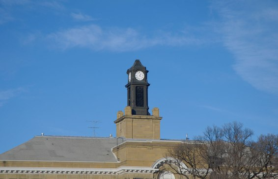 Clock Tower of the local Middle School