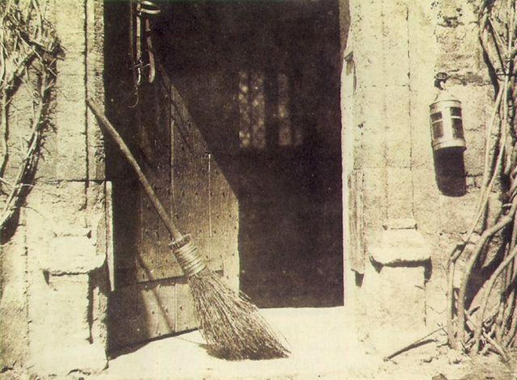 Henry Fox Talbot Broom Photo